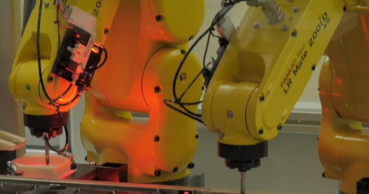 Tray Loader Robot Cell