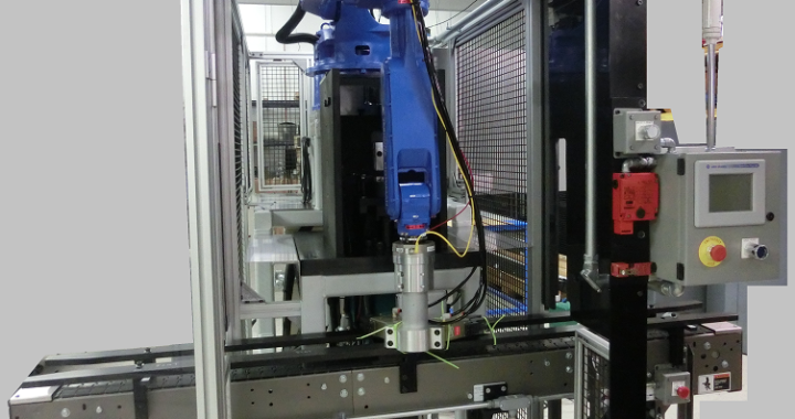 Automotive Component Robotic Work Cell